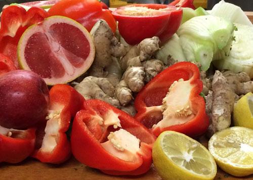 Für die Bio-Essenz von livQ werden 31 biologisch erzeugte Früchte verwendet.