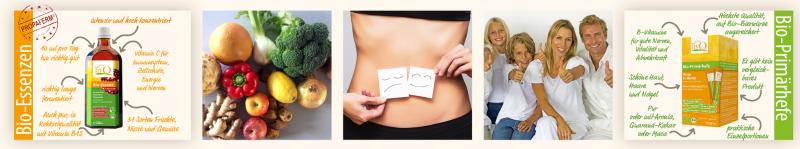 Bio Primärhefe und Bio Essenz - Fermentierte Lebensmittel von livQ für eine gesunden Ernährung